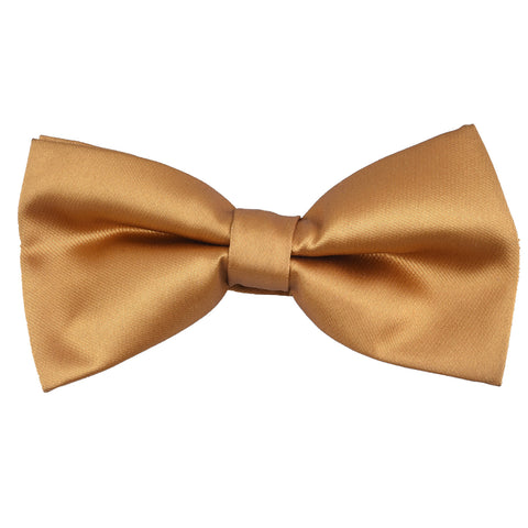 Satin Mustard-Gold Bow