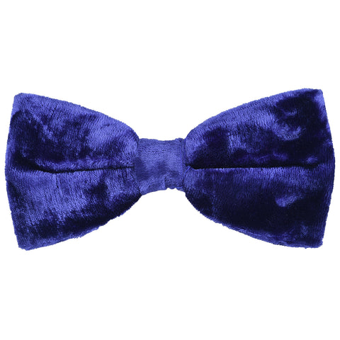 Velvet Royal Purple Bow Tie