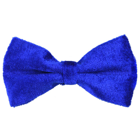 Velvet Royal Blue Bow Tie
