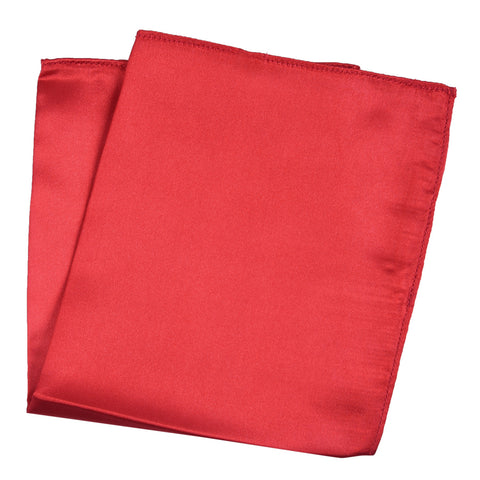 Red- Pocket Square