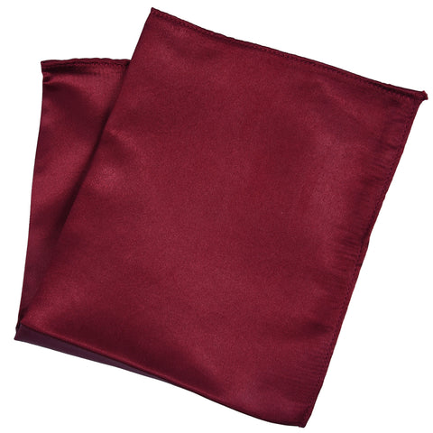 Maroon -Pocket Squares