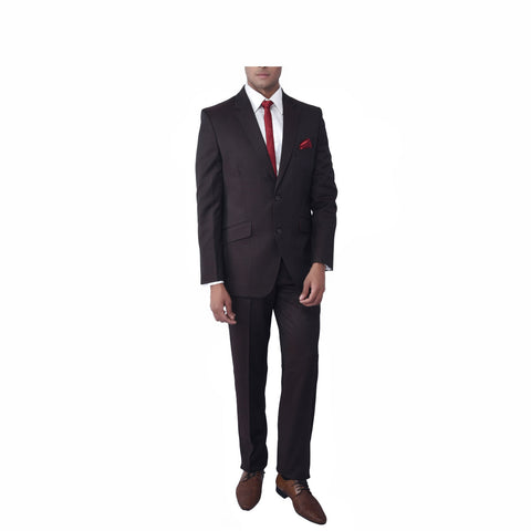 Rent- Brown Twill Suit
