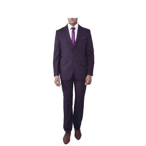 Purple Evening Suit