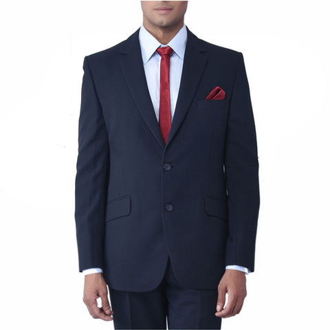 Rent- Blue High - Twist Self Dobby Suit