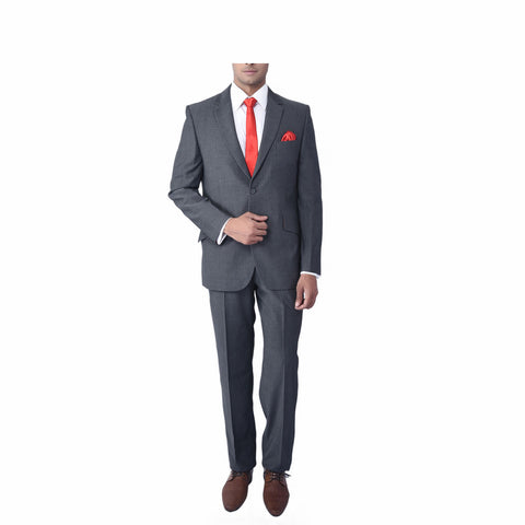 Smoke Grey Mohair Suit