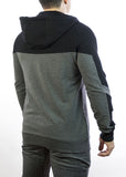 Jusbi - Premium Zip Up Hoodies Jusbi Premium Zip Up Hoodie - Black/Charcoal