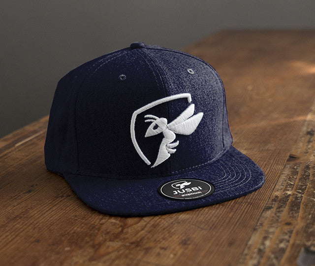 Jusbi - Snapbacks Jusbi™ Icon Snapback - Navy/White