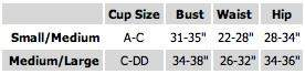 chynna dolls size chart @ apparel addiction
