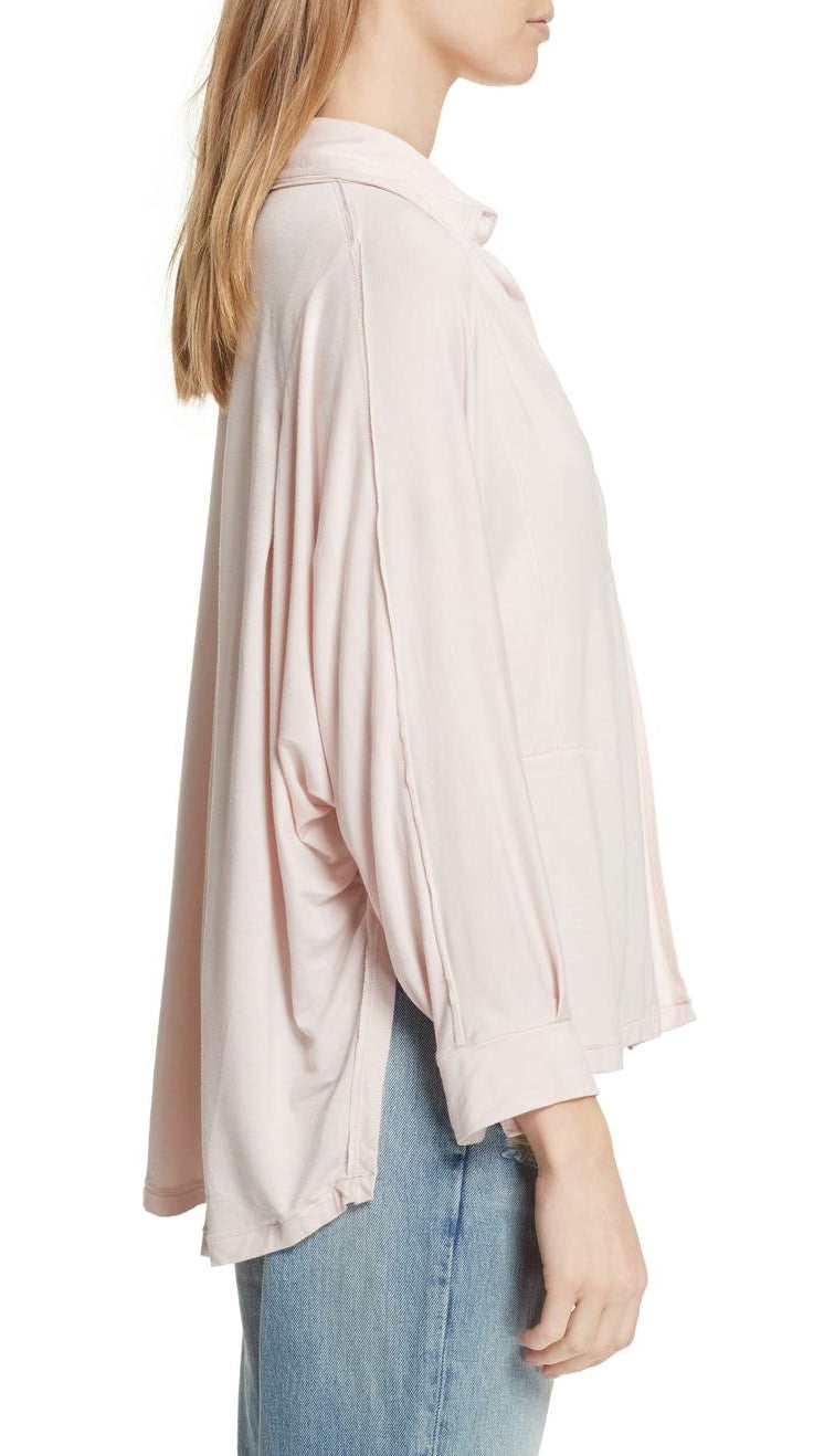 Free People Can't Fool Me Tee Peach