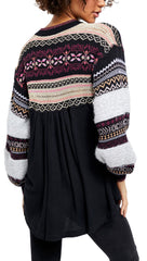 Free People Free People Cabin Fever Sweater Knit Black I ShopAA