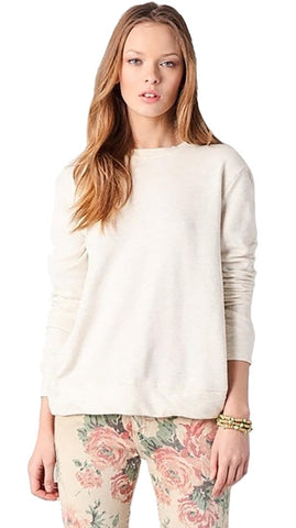 291 Cross Back Pullover in Oatmeal