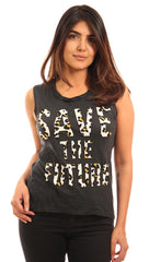 291 Les Amants Save the Future Muscle Tank
