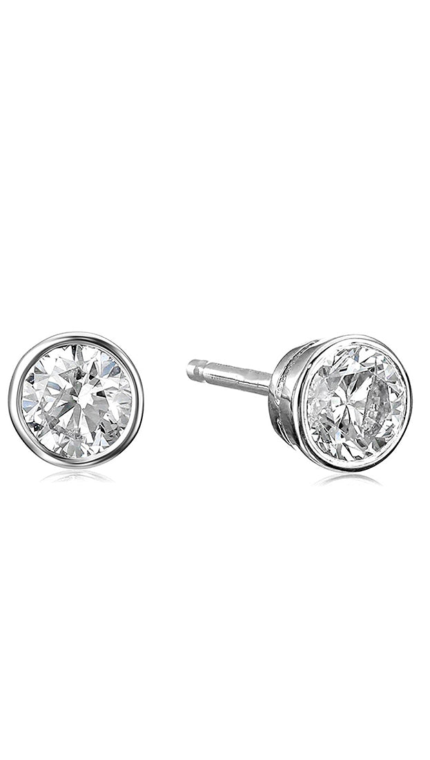 Make A Wish Cubic Zirconia Earring Stud