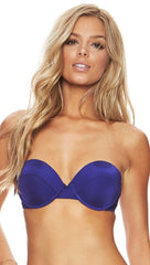 Material Girl Balconette Top Beach Bunny Swimwear Navy Blue Apparel Addiction