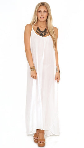 9 Seed Tulum Dress in White as seen on Kourtney Kardashian