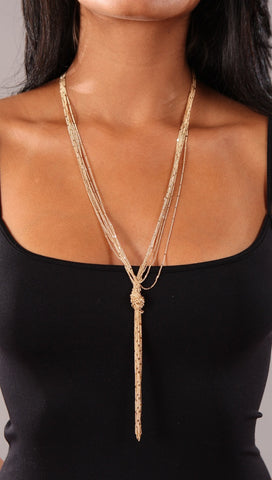Apparel Addiction Knot Necklace