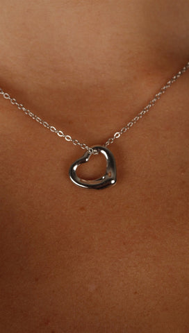 Apparel Addiction Rounded Heart Necklace