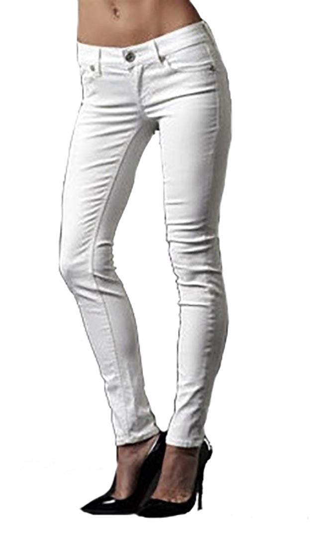Affliction Bianca Disco A White Denim
