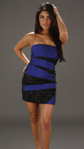 Alexia Admor Bandage Tube Dress in Violet