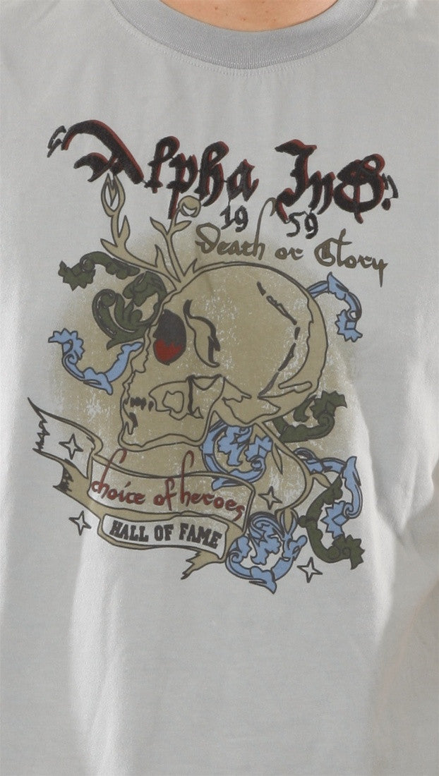 Alpha Industries Death or Glory Skull Mens Shirt