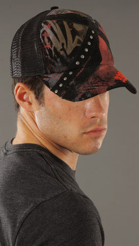 Anama Criss Cross Star Trucker Hat