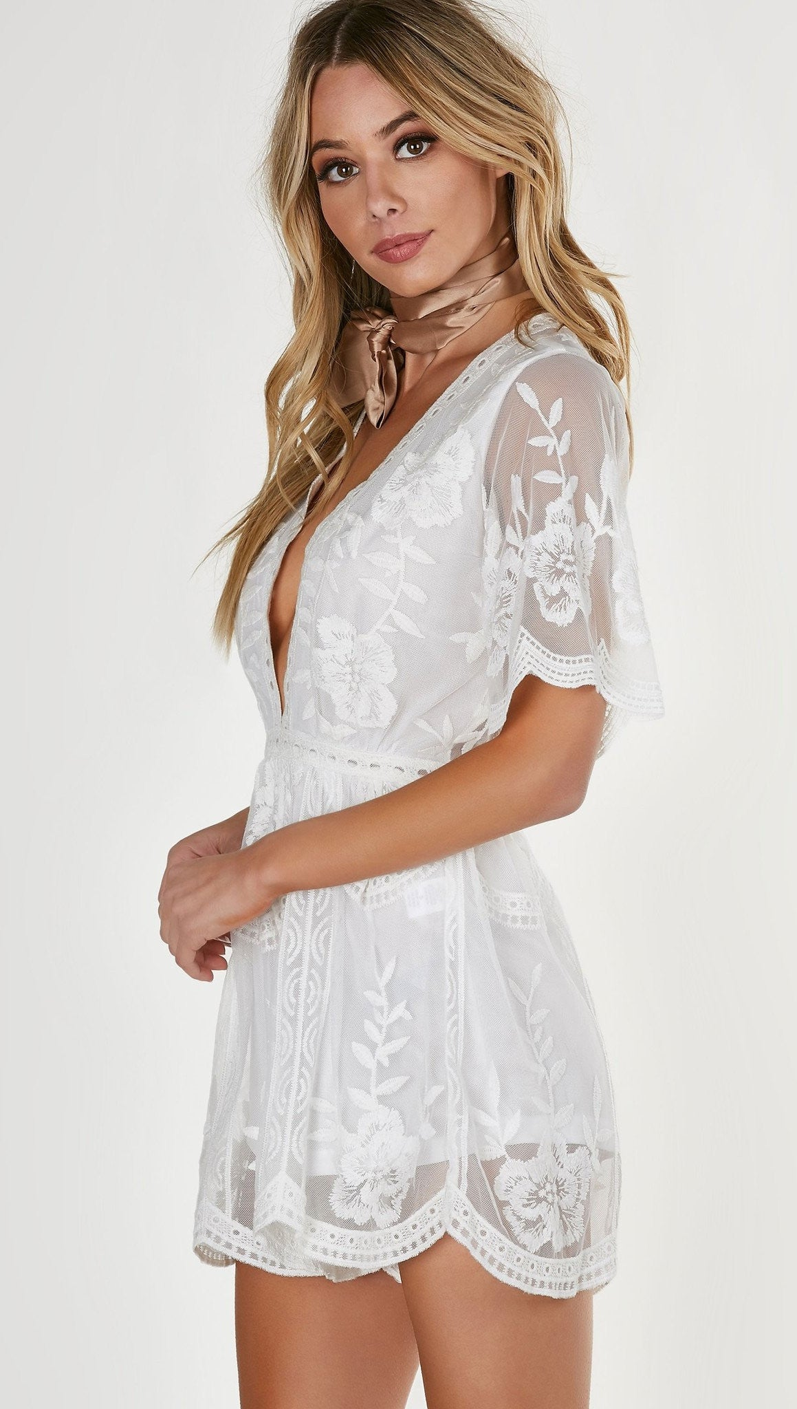 d8231a7269df ... Honey Punch. Antique Embroidered Romper White. Antique Embroidered Romper  White. Antique Embroidered Romper White