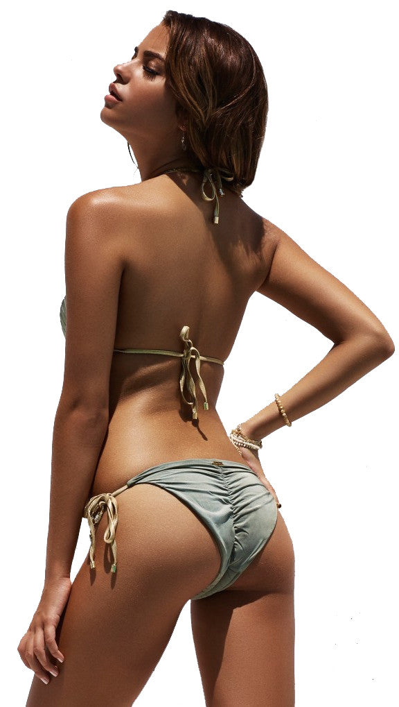 Beach Bunny Swimwear Hotline Bling Bikini Set Army