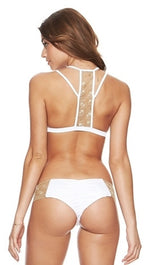 Beach Bunny Swimwear Seascape Bikini in White