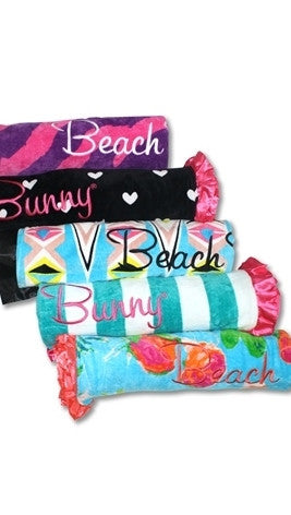 Beach Bunny Swimwear Tropical Affair Beach Towel