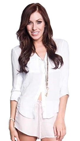 Bella Dahl Favorite Shirt Button Down White
