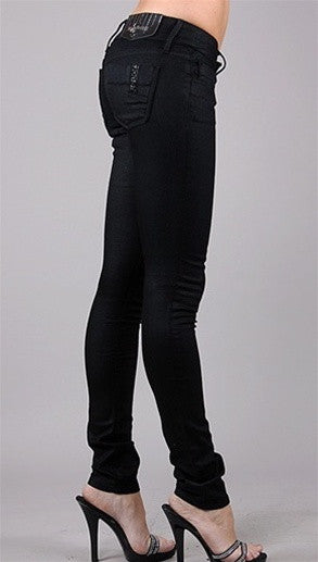 Black Orchid Denim Black Jewel Jeggings in Equinox