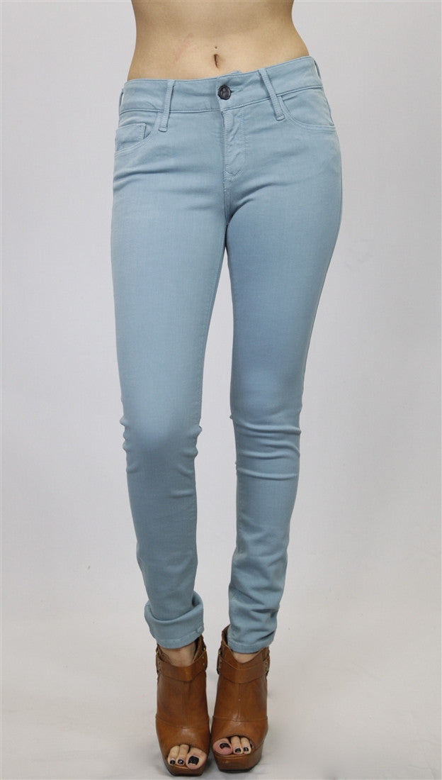 Black Orchid Denim Mid Rise Jegging in Escapade