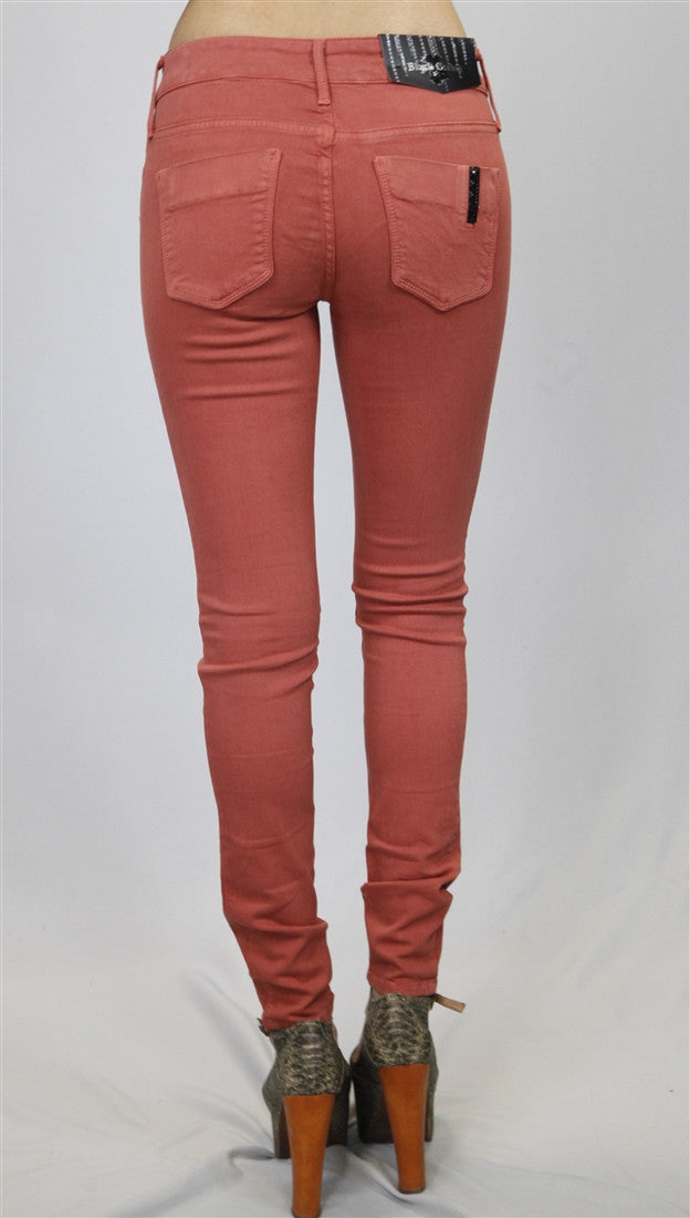 Black Orchid Denim Mid Rise Jegging in St. Tropez