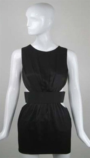 Blaque Label Cut Out Waist w/ Elastic Band Dress