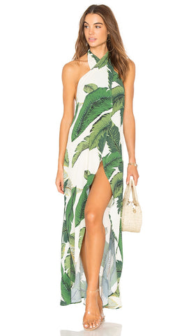 Beach Riot Palm Salty Wrap Maxi Dress Wrap Swim Cover Up I ShopAA
