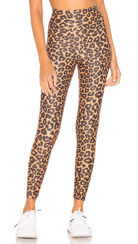 Beach Riot Leopard Print Piper High Rise Active Legging I ShopAA