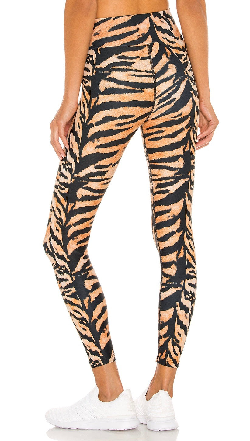 Beach Riot Cara Legging Tiger High Rise Active Mermaid Pants | ShopAA