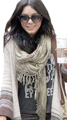 Brokedown Military Marble Scarf in Olive Green Hudgens