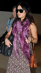 Brokedown Military Marble Scarf in Purple as seen on Vanessa Hudgens