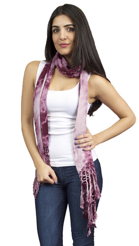 Brokedown Military Marble Scarf in Purple