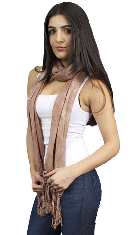 Brokedown Military Marble Scarf in Taupe