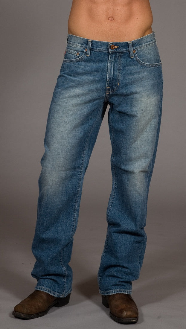 Big Star Men's Relaxed Fit Jeans Light Blue