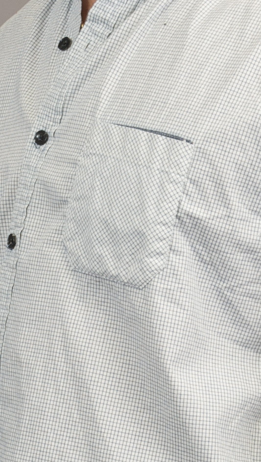 BTNS Plaid 1 Pocket Button Down