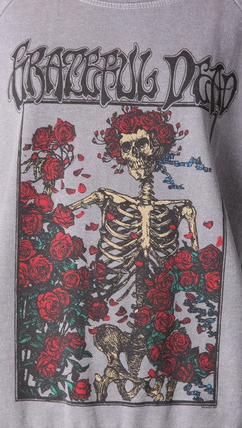 Chaser Grateful Dead Box of Roses Pullover Raglan