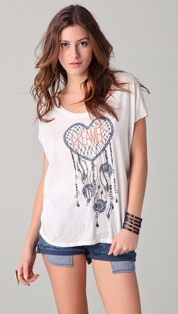Chaser Dreamer Sleeveless Shirt Tail Tee