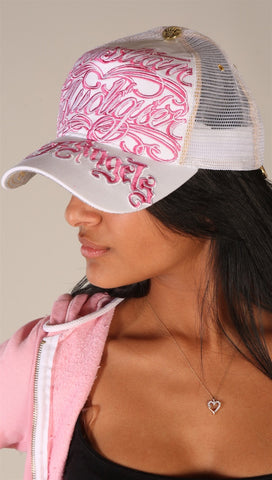 Christian Audigier City of Angels Hat Pink