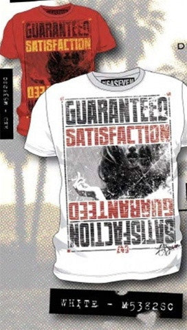 Code 64 Seven Satisfaction Guaranteed Tee (Available in White and Red)
