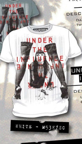 Code 64 Seven Under The Influence Tee in Grey