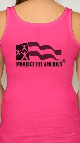 The Corey Stansell Bachelorette #TeamCorey Tank Top in Pink