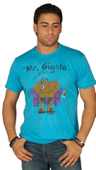 David & Goliath Mr. Gigolo Tee Shirt Blue l ShopAA